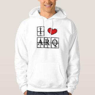 I love ARQ printed Moletom Hoodie