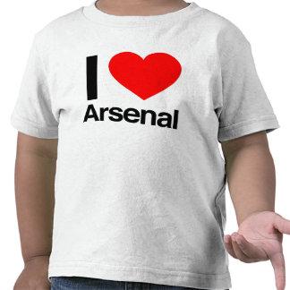i love arsenal tshirts