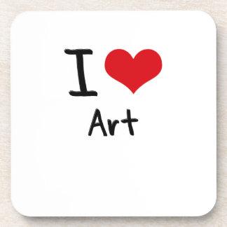 I love Art Coaster