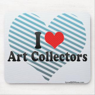 I Love Art Collectors Mouse Pad