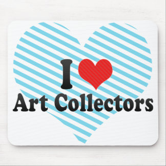 I Love Art Collectors Mouse Pads