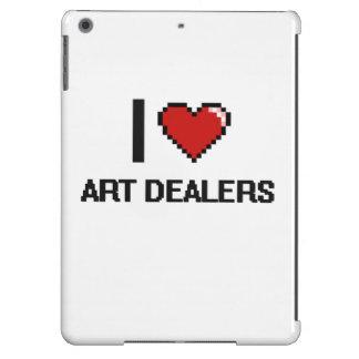 I love Art Dealers iPad Air Case