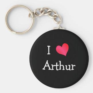 I Love Arthur Key Ring