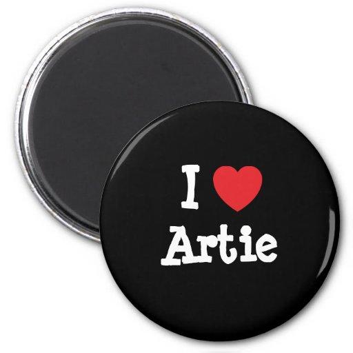 I love Artie heart T-Shirt Refrigerator Magnet