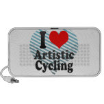 I love Artistic Cycling Notebook Speakers