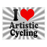 I love Artistic Cycling Post Cards