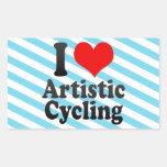 I love Artistic Cycling Sticker
