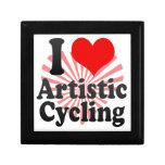 I love Artistic Cycling Trinket Box