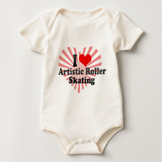 I love Artistic Roller Skating Baby Creeper