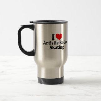 I love Artistic Roller Skating Stainless Steel Travel Mug