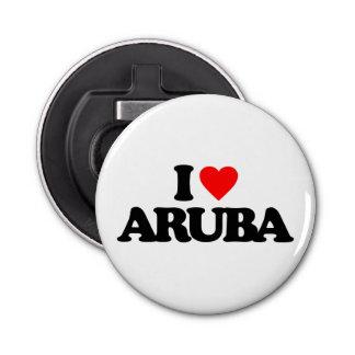 I LOVE ARUBA BOTTLE OPENER