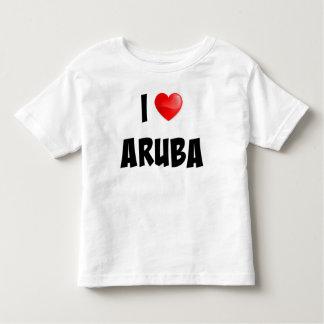 """I Love Aruba"" custom designed clothing T Shirts"