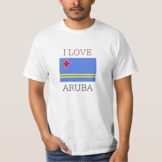 I love Aruba Tee Shirts
