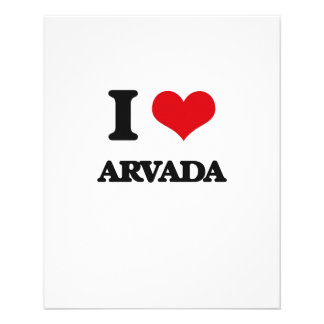 I love Arvada Personalized Flyer