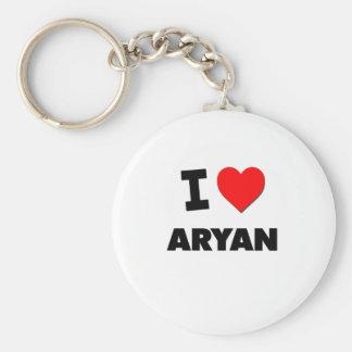 I love Aryan Keychain