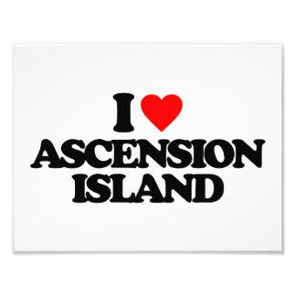 I LOVE ASCENSION ISLAND PHOTO ART