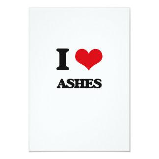 I Love Ashes Invitation Card