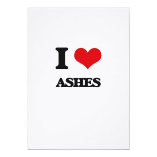 I Love Ashes Card