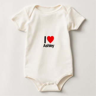i love ashley baby bodysuit