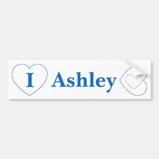 I Love Ashley (BpS) Bumper Stickers