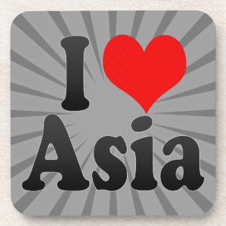 I love Asia Drink Coaster