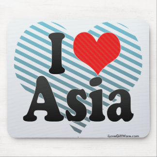 I Love Asia Mouse Pad