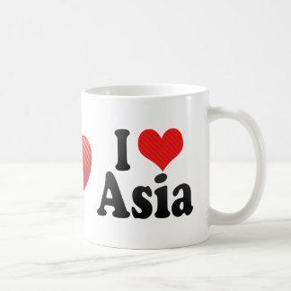 I Love Asia Mugs