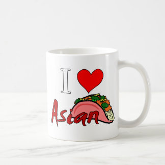 I Love Asian Taco Coffee Mug