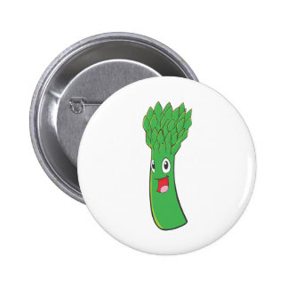I Love Asparagus 6 Cm Round Badge