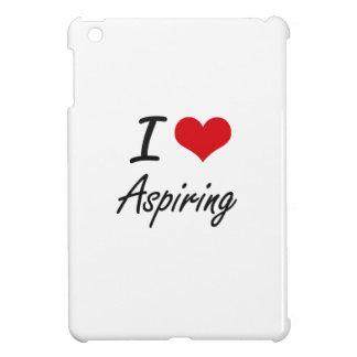 I Love Aspiring Artistic Design iPad Mini Case