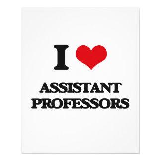 I Love Assistant Professors Full Color Flyer