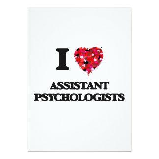 I love Assistant Psychologists 13 Cm X 18 Cm Invitation Card