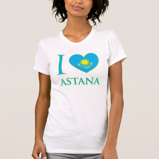 I Love Astana Ladies Tank Top (Fitted)