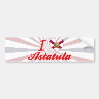I Love Astatula, Florida Bumper Sticker