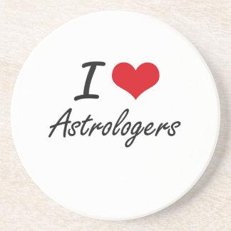 I love Astrologers Coasters