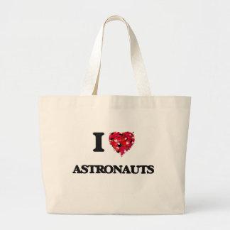 I Love Astronauts Jumbo Tote Bag