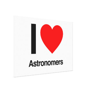 i love astronomers canvas prints