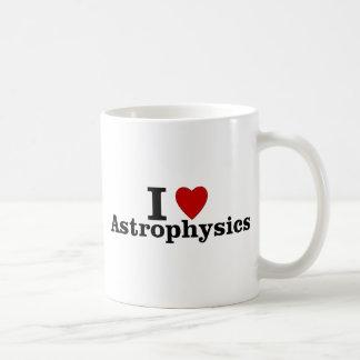 I Love Astrophysics Basic White Mug