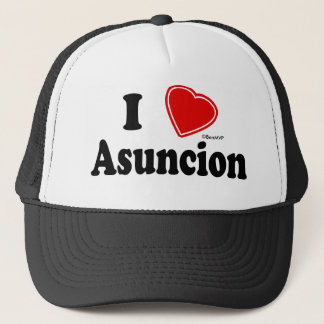 I Love Asuncion Trucker Hat
