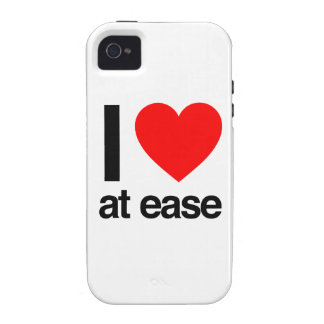 i love at ease iPhone 4 covers