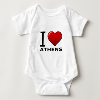 I LOVE ATHENS,GA - GEORGIA TEE SHIRT