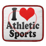I love Athletic Sports iPad Sleeve