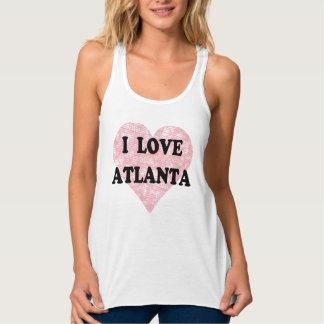 I Love Atlanta Flowy Racerback Tank Top