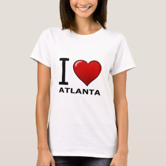 I LOVE ATLANTA,GA - GEORGIA T-Shirt
