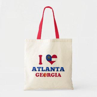 I Love Atlanta, Georgia Bags