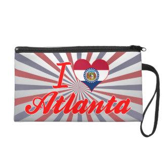 I Love Atlanta, Missouri Wristlet Clutch