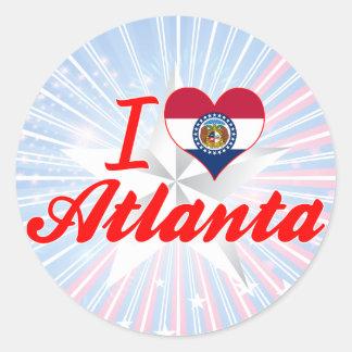 I Love Atlanta, Missouri Stickers