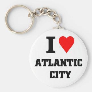 I love Atlantic City Key Ring