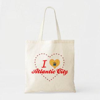 I Love Atlantic City, New Jersey Tote Bag