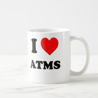 I Love Atms Basic White Mug